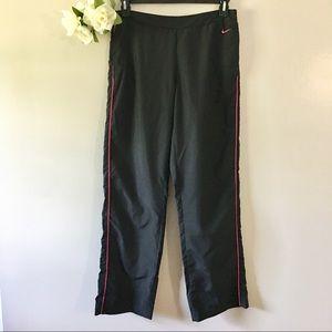 Nike Black & Pink Track Pants